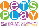 Let's Play Inclusive Play for Children with Physical Disabilities wordmark